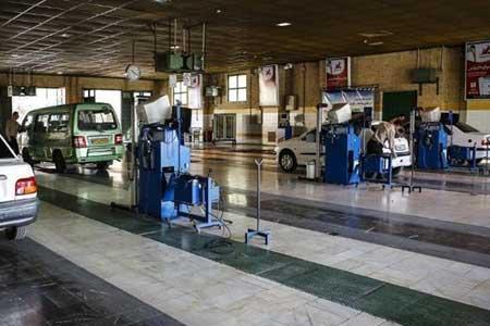مراکز معاینه فنی جنوب تهران بسیار خلوت است